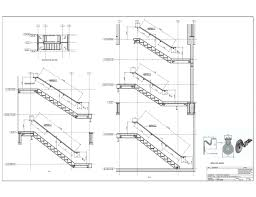 Handrail Construction Detail Staircase Construction Drawing Staircase Gallery