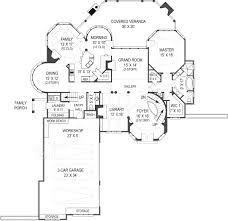 Reverse Story And A Half Floor Plans Hennessey Courtyard Luxury Floor Plan 4000 Sq Ft House Plan