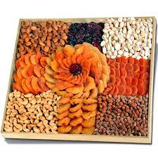 fruit and nut baskets executive dried fruits nuts platter kascher