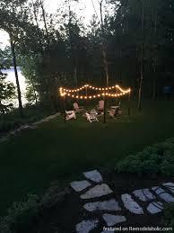 backyard string lights pinterest ideas lowes 20891 gallery