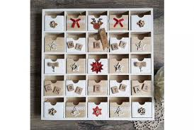 wood advent calendar handmade wooden advent calendar absolute home