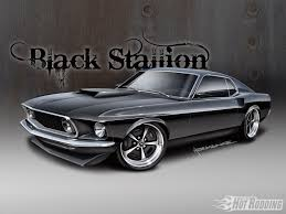 1969 Mustang Fastback Black 1969 Mustang Fastback Rod Network