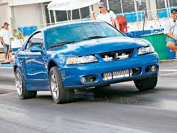fastest mustang cobra whats the fastest terminator running on factory 17 s
