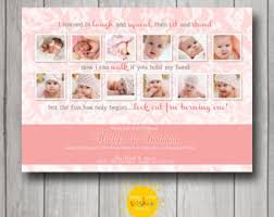 first birthday photo montage birthday party event printable