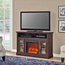 electric fireplace tv stand media console heater entertainment