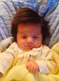Old Baby Meme - 2 months old not a wig imgur
