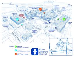 of akron map contact us ronald mcdonald house of akron