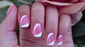 simple classy pink nails youtube