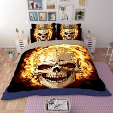 sugar skull bedding any color mega print with large detailed and