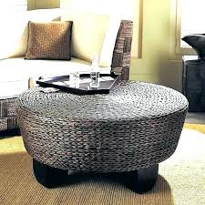 white wicker end table wicker coffee table resin wicker coffee table x rectangular aluminum