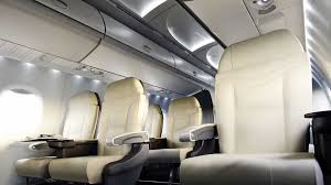 Aircraft Interior Design Mrj Successfully Completes First Flight