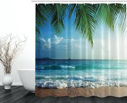 ocean decor bathroom hondaherreros com palms ocean tropical island beach decor maldives high resolution photography home postcard bathroomchinamarine life bathroom set