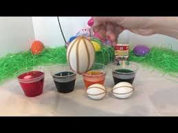 Decorating Easter Eggs With Cool Whip by Decorating Easter Eggs With Crayons Using Cool Whip To Decorate