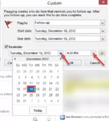outlook 2013 design follow up flag and color category in microsoft outlook 2013 help