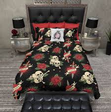 tattoo bedding queen 782 best awesome bedding images on pinterest comforters anne