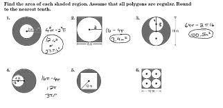 finding areas of shaded regions between polygons u0026 circles youtube
