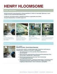 glimmer free resume template by hloom com cv pinterest