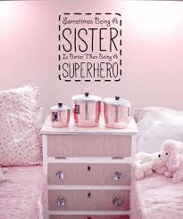 100 superhero bedroom decor uk online buy wholesale superhero bedroom decor uk by sometimes being a sister is better than being a superhero wall
