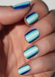 112 best stripes nails images on pinterest striped nails make