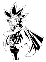 coloring page yu gi oh coloring pages 1