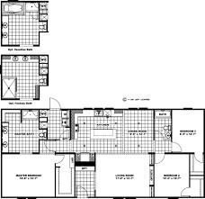 4 Bedroom Single Wide Mobile Home Floor Plans Models Giles Industries