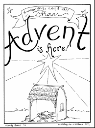advent coloring page christmas tree advent calendar coloring page