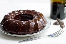 wine chocolate chocolate cake with wine glaze mon petit four