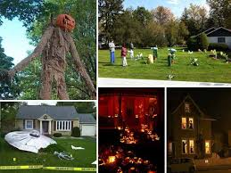 Decorated Homes 18 Craziest Halloween Decorated Homes Across The Planet Decor