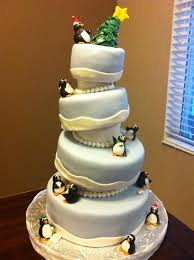 a compilation of penguin cake and cupcake ideas