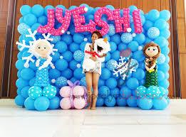 frozen balloon decoration google search frozen balloon ideas