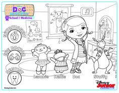 doc mcstuffins coloring pages coloring book doktorka