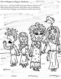 ten plagues of egypt coloring pages funycoloring