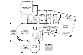 Small Powder Room Dimensions Florida House Plans Burnside 30 657 Associated Designs