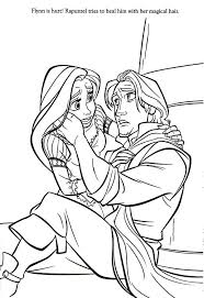 disney princess coloring pages rapunzel flynn free images
