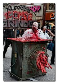 Butcher Halloween Costume Meat Grinder Gross Halloween Costume Ghosts U0026 Ghouls