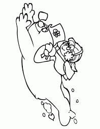 frosty snowman printable coloring pages