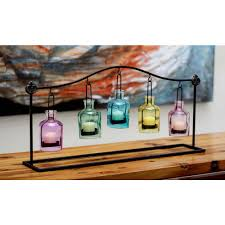 springy spherical hanging votive holder kf130037 bk10 the home depot