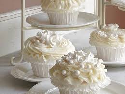 wedding cake and cupcake ideas wedding cake cupcakes recipe myrecipes