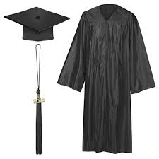black cap and gown we offer caps gowns and taseels for any event big or small cap