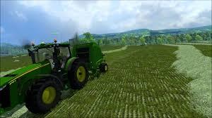 john deere tractor game 8335r john deere tractor john deere l la new holland t6 john deere farming simulator belowanie z john deere 8335r youtube
