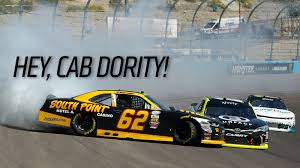 animated wrecked car watch a nascar racer drive his wrecked car right into the car that