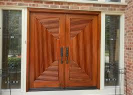 Exterior Doors Wooden Furniture Large Wooden Exterior Doors With Contemporary