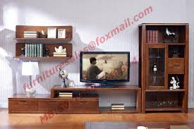 Solid Wood Living Room Furniture Design Solid Wood Material Tv Stand For Wall Unit In Living Room