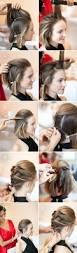 pictures on easy hairstyle tutorials for medium length hair