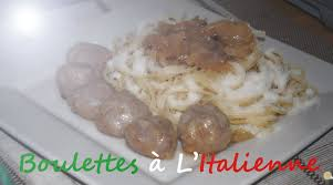 cuisine az frigo recette boulettes de veau à l italienne