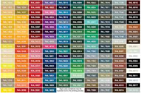 ral colour chart painter choice singapore