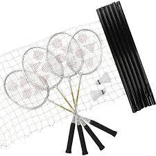 amazon com yonex leisure badminton set 4 pack badminton
