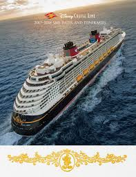 disney cruise line announces summer 2018 itineraries may