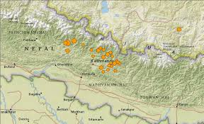 us geological earthquake map media r evolutions mapping nepal after the earthquake