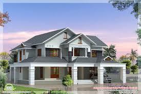 villa house plans floor single hahnow